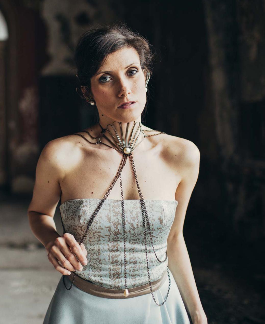 Gioiello Safia Malvarosa taglaita