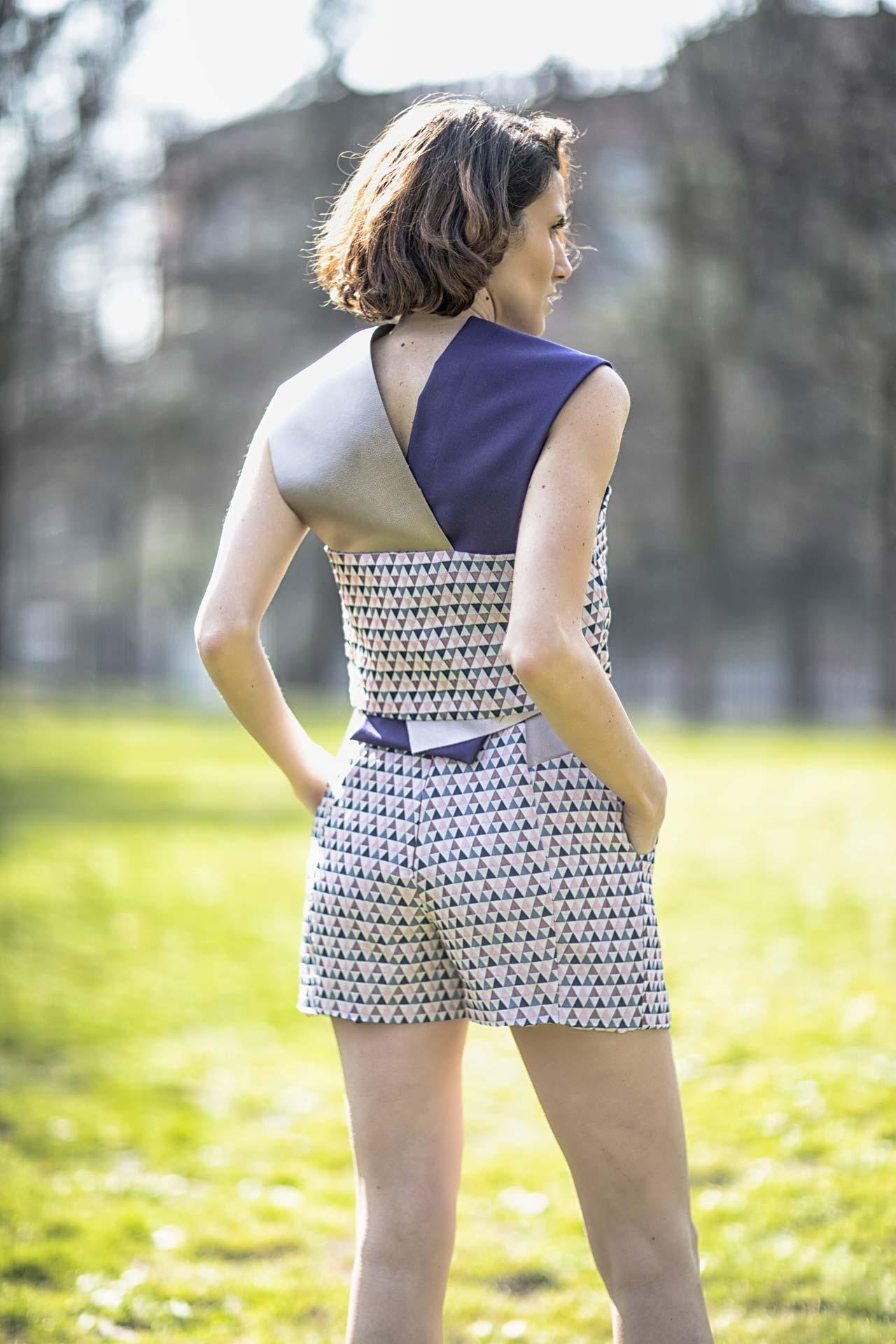 Top + pantaloncino